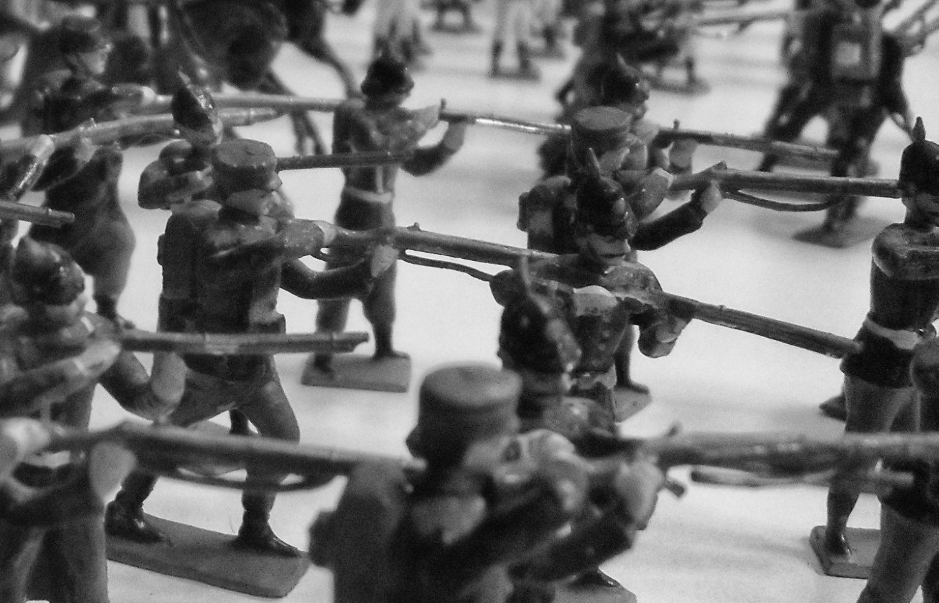 Toy soldiers at the Museo del Juguete in Trujillo