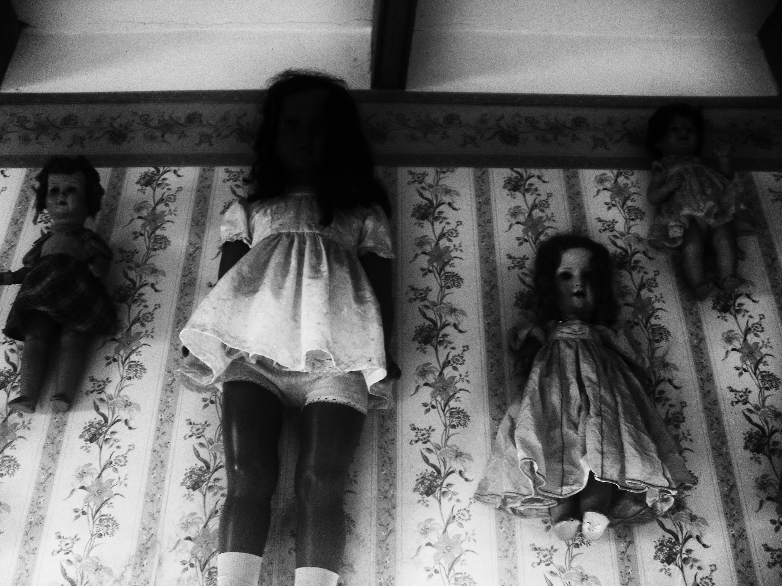 The doll of despair in Trujillo's toy museum