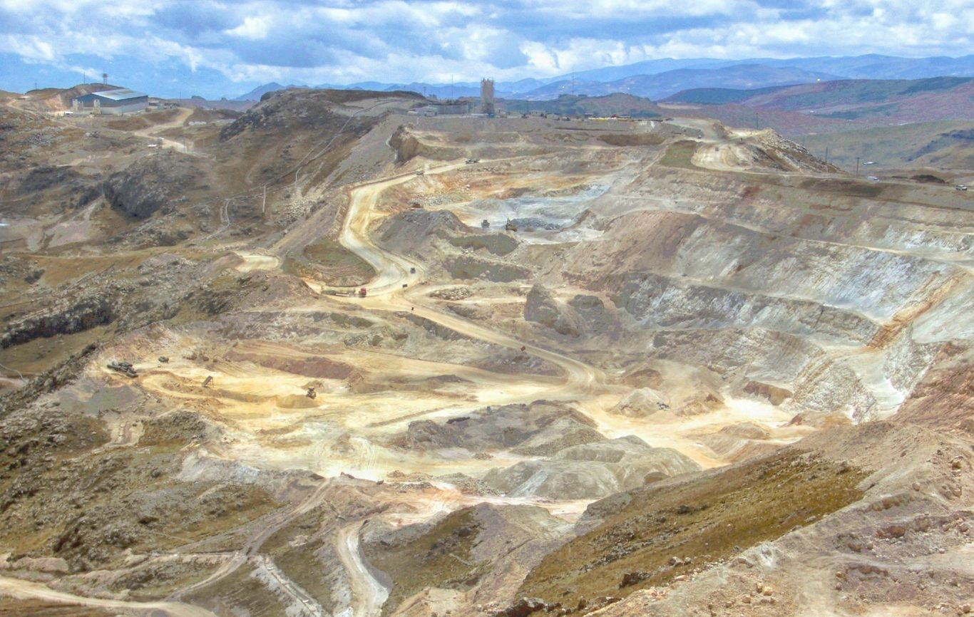 Yanacocha gold mine in Peru