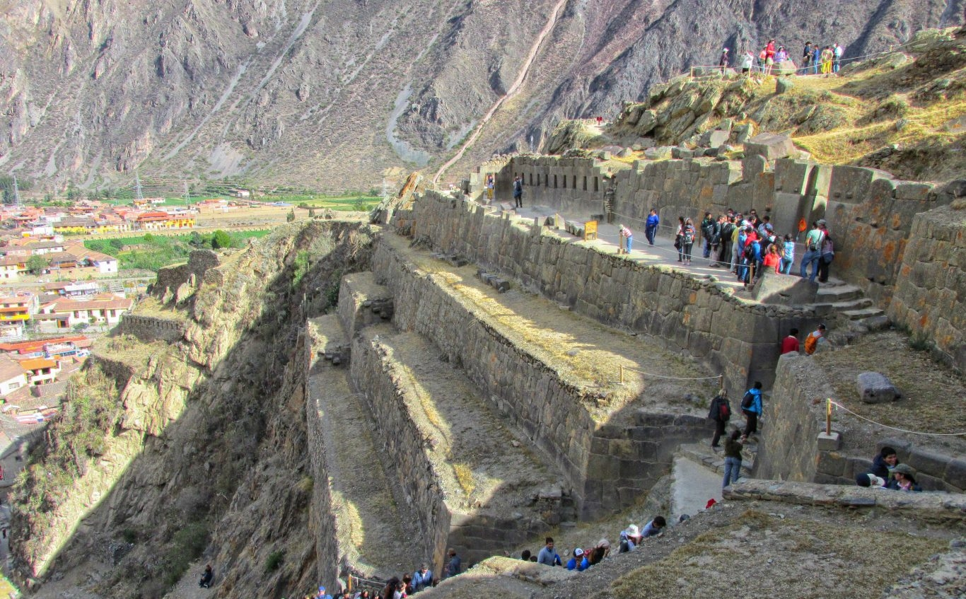 Ollantaytambo in the Sacred Valley, Cusco
