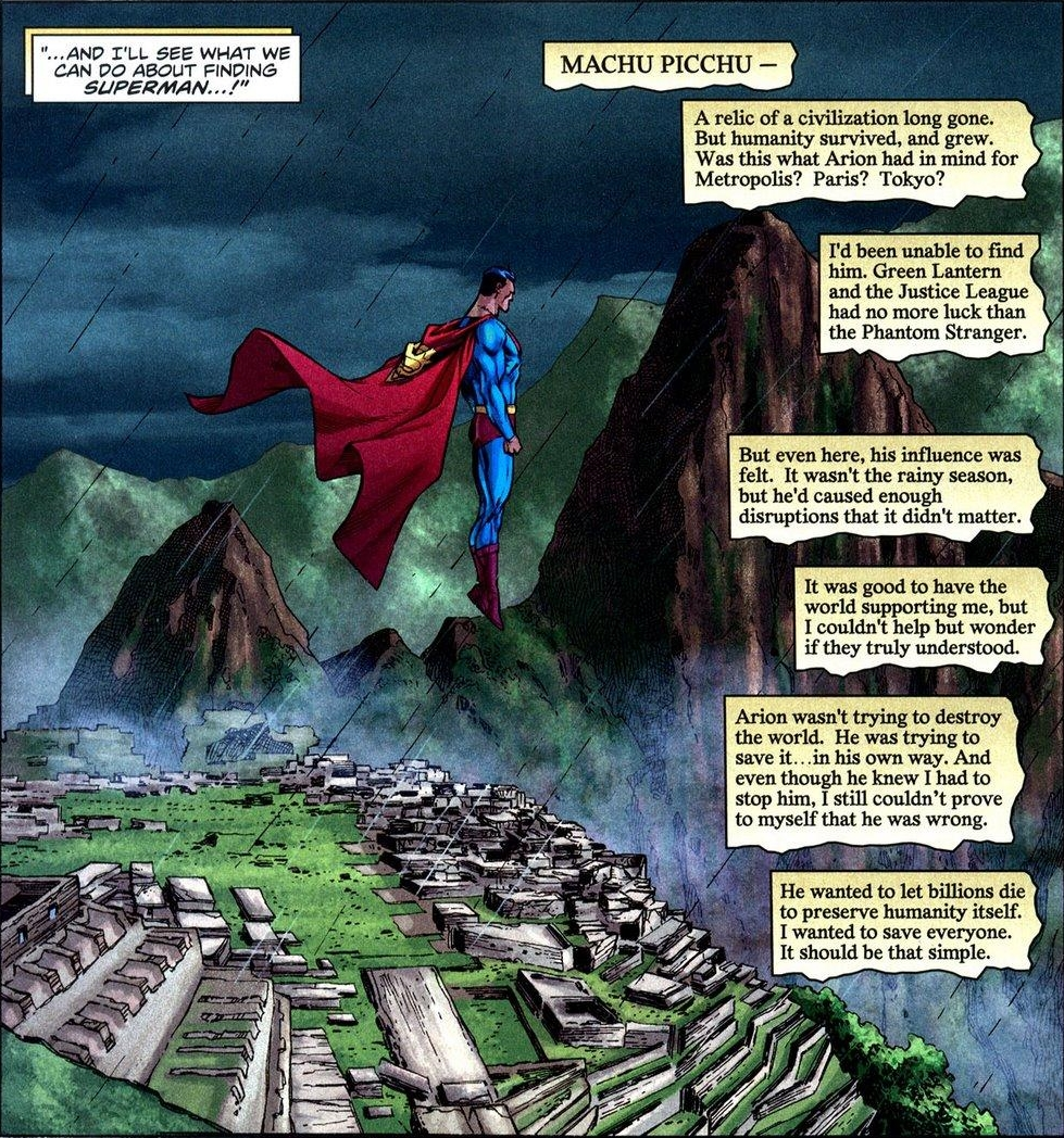 Quotes about Peru: Superman at Machu Picchu